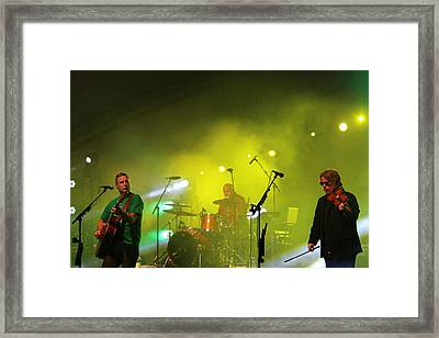 Sean Mccann And Bob Hallett Framed Print by Gerald Murray Photography