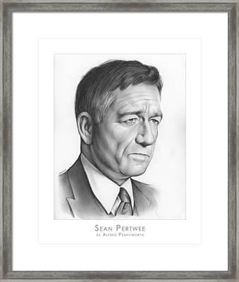 Sean Pertwee Framed Print