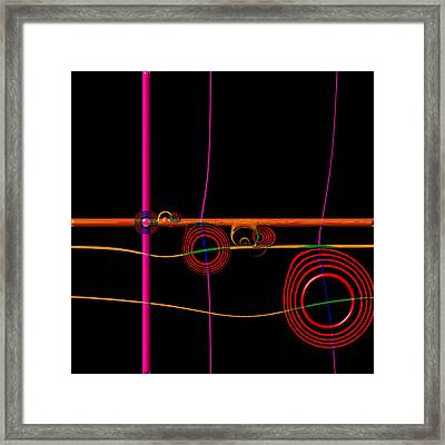 Seance Saturday Framed Print by Wendy J St Christopher