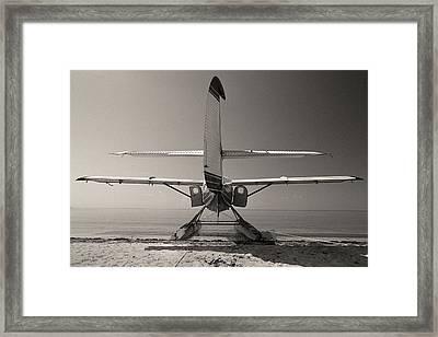 Seaplane - Dry Tortugas National Park - Florida Keys Framed Print by Andy Moine