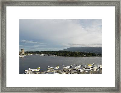 Seaplanes Framed Print by Ivy Ho
