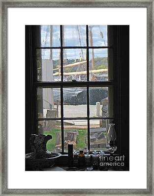 Seaport View Framed Print