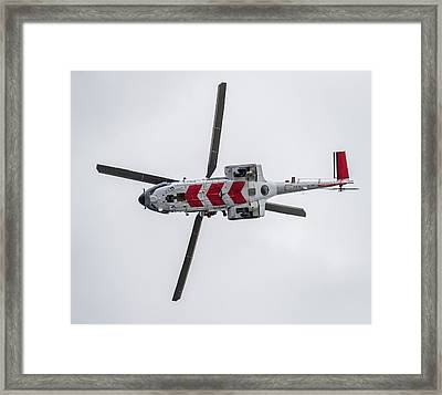 Search And Rescue Helicopter - Tf-lif Framed Print