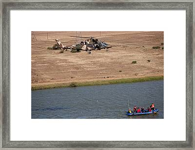 Search And Rescue  Framed Print by Paul Job