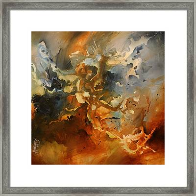 'searching For Chaos' Framed Print by Michael Lang