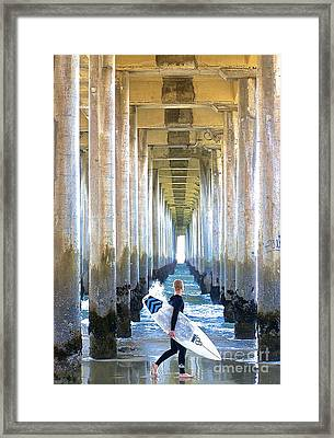 Searching For Peace Framed Print