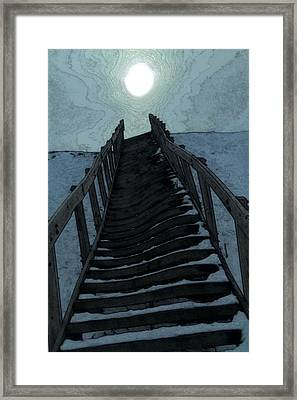 Searching For The Light Framed Print by Dan Sproul