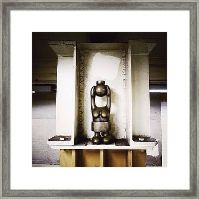 Searching For The Subway Framed Print by Natasha Marco