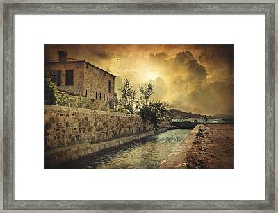 Searching The Past Framed Print by Taylan Apukovska