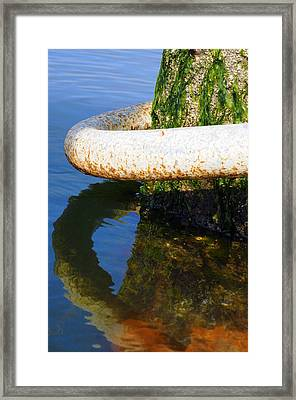 Searing Framed Print by Kenneth Feliciano