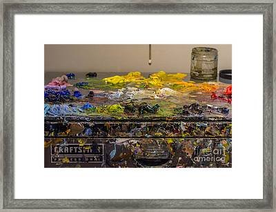Sears Craftsman Professional Tool Chest Framed Print by Dale Powell