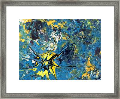 Sea's Create Framed Print
