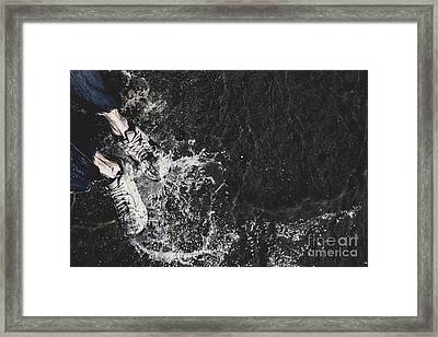 Seas Of Freedom Framed Print by Jorgo Photography - Wall Art Gallery