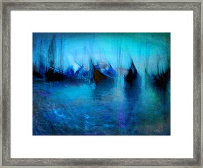 Framed Print featuring the photograph Seascape #16. Venetian Shore by Alfredo Gonzalez