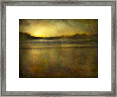 Framed Print featuring the photograph Seascape #18 by Alfredo Gonzalez