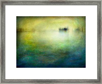 Framed Print featuring the photograph Seascape #19 -shipside- by Alfredo Gonzalez