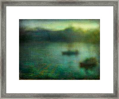 Framed Print featuring the photograph Seascape #23. Retreat Pond by Alfredo Gonzalez