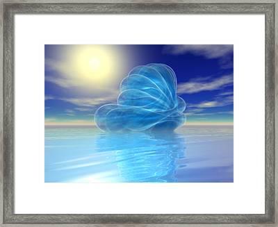 Seascape #5_p_400 Framed Print by Stephen Donoho