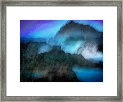 Framed Print featuring the photograph Seascape #9 -bay's Dusk- by Alfredo Gonzalez