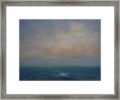 Seascape - A Nereid Sighting Framed Print