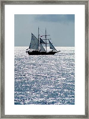 Seascape Framed Print by Anonymous