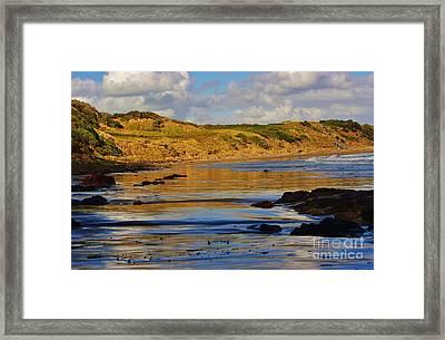 Seascape At Phillip Island Framed Print by Blair Stuart