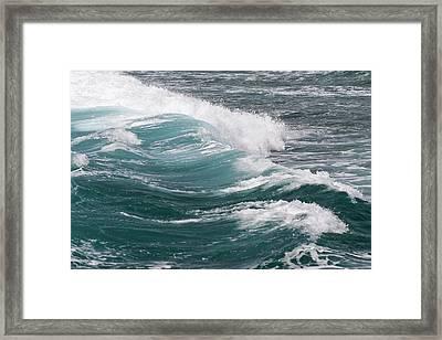Seascape Framed Print by Daisy Gilardini