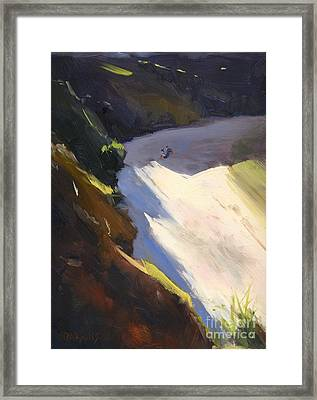 Seascape Drama After Colley Whisson Framed Print