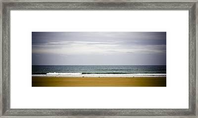 Seascape Framed Print by Frank Tschakert