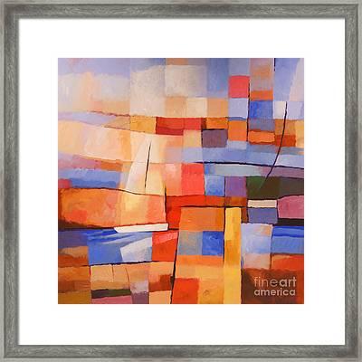 Seascape Image Framed Print
