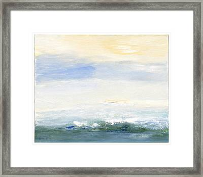 Seascape Izu Japan 1999 Framed Print