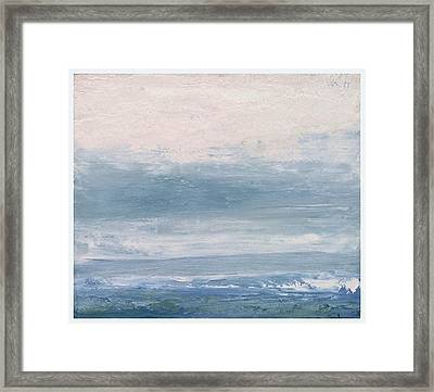 Seascape Izu Peninsula 1999 Framed Print