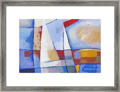 Seascape Framed Print by Lutz Baar