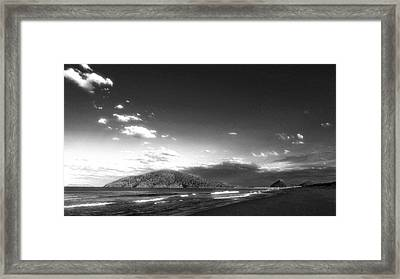 Seascape Northern Nsw Framed Print