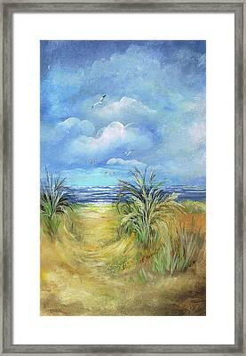 Seascape Print Framed Print