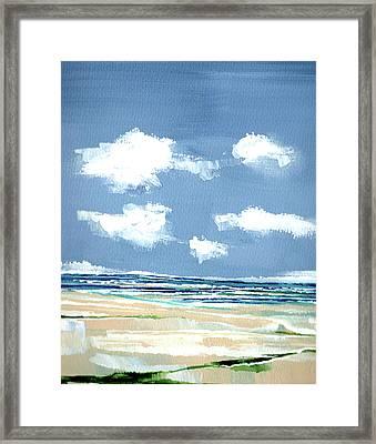 Seascape V Framed Print by Stuart Roy