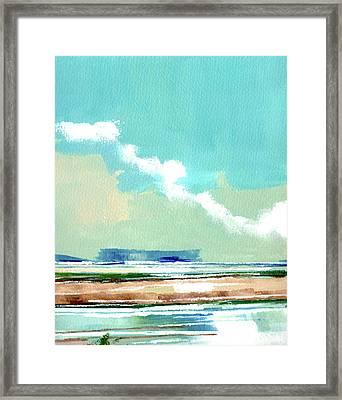 Seascape Vii Framed Print by Stuart Roy