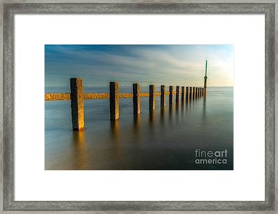 Seascape Wales Framed Print