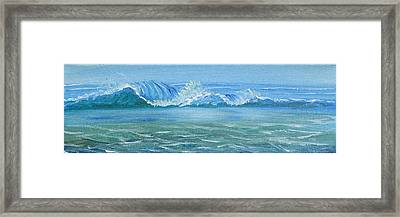 Seascape Wave IIi Framed Print