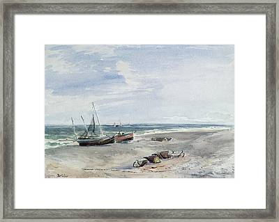 Seascape  Framed Print by Thomas Collier
