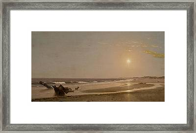 Seascape Framed Print by William Trost Richards