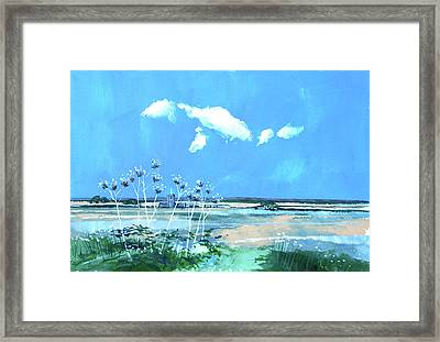 Seascape X Framed Print by Stuart Roy
