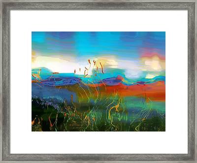 Seascapes 1 Framed Print