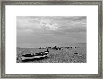 Seashore Framed Print by Benoit Charon
