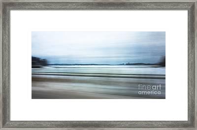 Seashore Expressions Framed Print