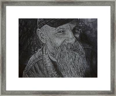 Seasick Steve  Framed Print