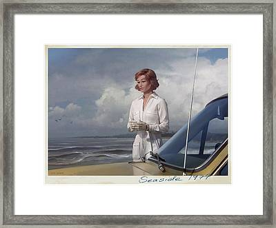 Seaside 1974 Framed Print