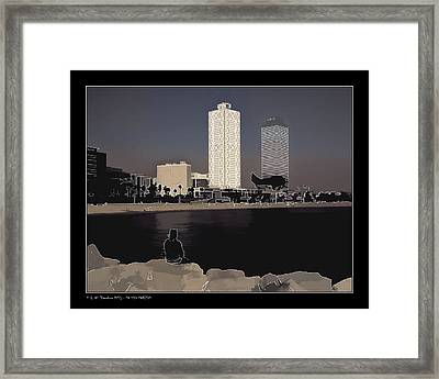 Framed Print featuring the photograph Seaside Boulevard by Pedro L Gili