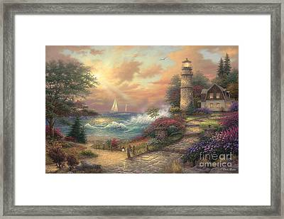 Seaside Dream Framed Print by Chuck Pinson