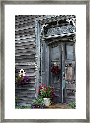 Seaside Entrance Framed Print